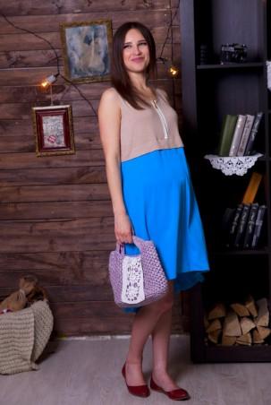 Nowa Ty: Платье Цветная ассиметрия 15010108 - главное фото