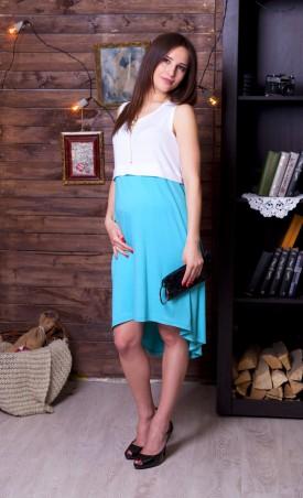 Nowa Ty: Платье Цветная ассиметрия 15010107 - главное фото