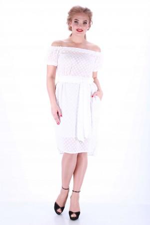 Alpama: Платье белое SO-13033-WHT SO-13033-WHT - главное фото