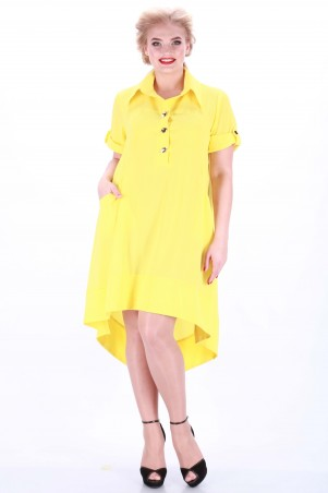 Alpama: Платье желтое SO-13038-YLW SO-13038-YLW - главное фото