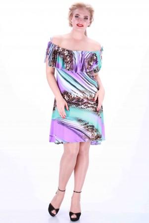Alpama: Сарафан фиолетовый SO-13040-BSN SO-13040-BSN - главное фото