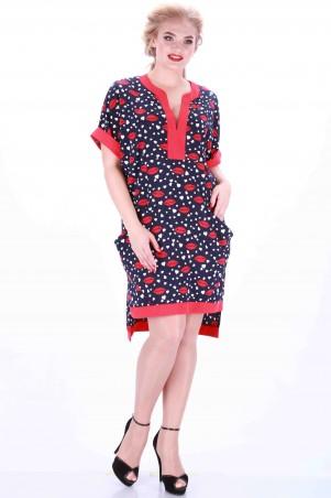 Alpama: Платье синее SO-13041-BLD SO-13041-BLD - главное фото