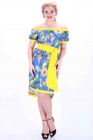 Alpama: Платье голубое SO-13034-CYP SO-13034-CYP - главное фото