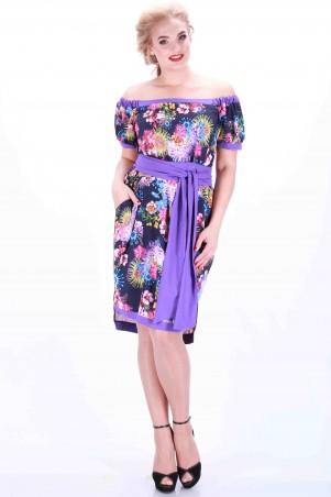 Alpama: Платье фиолетовое SO-13034-LIL SO-13034-LIL - главное фото