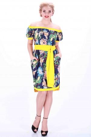 Alpama: Платье синее SO-13034-BLU SO-13034-BLU - главное фото