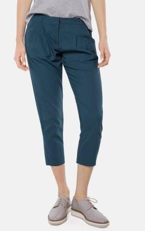 MR520 Women: Укороченные брюки MR 203 2118 0216 Dark Emerald - главное фото