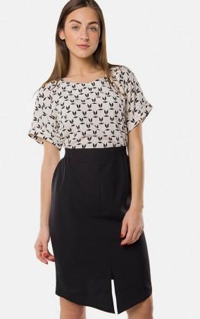MR520 Women: Платье MR 229 2144 0216 Black&White - главное фото