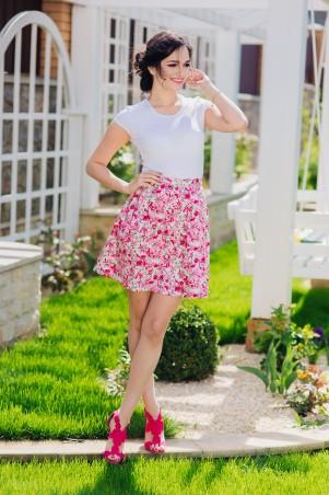 Champagne Sparkles: Юбка розовая-цветы 16202 - главное фото