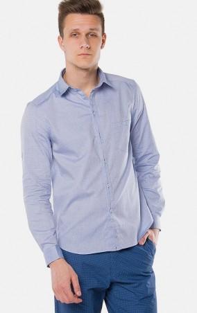MR520 Men: Однотонная рубашка MR 123 1097 0216 Light Blue - главное фото
