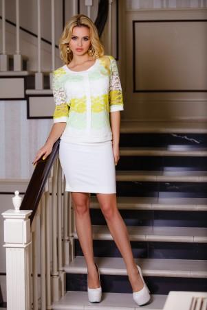 Jadone Fashion: Костюм (юбка+блуза) Лоретти М-1 - главное фото