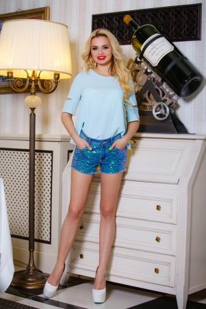 Jadone Fashion: Блуза Калипсо М-1 - главное фото