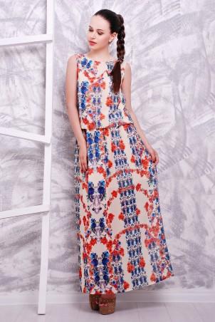 MarSe: Платье 1603 ветка роза - главное фото