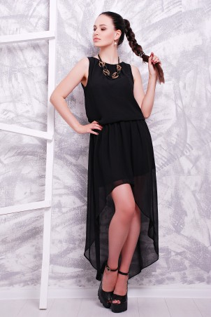 MarSe: Платье 1600 черный - главное фото