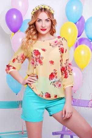 """FashionUp: Блуза """"Шифон"""" BZ-1323C - главное фото"""