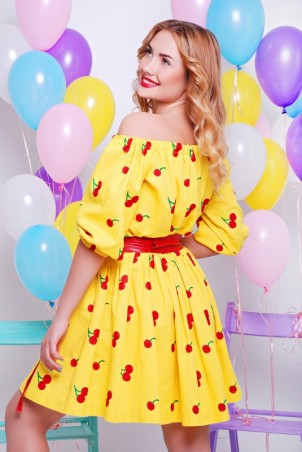 "FashionUp: Платье ""Вишенка"" PL-1325D - главное фото"