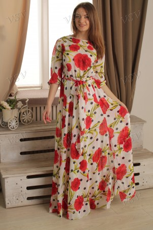 VSV: Платье 07-84.1 - главное фото