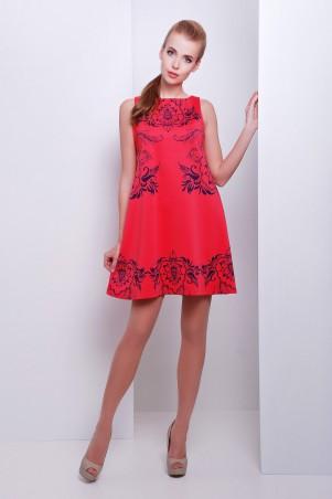 Glem: Платье Узор синий  Лада б/р - главное фото