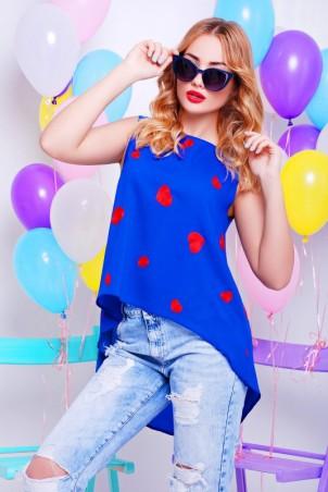 """FashionUp: Блуза """"Асимметрия"""" BZ-1327D - главное фото"""