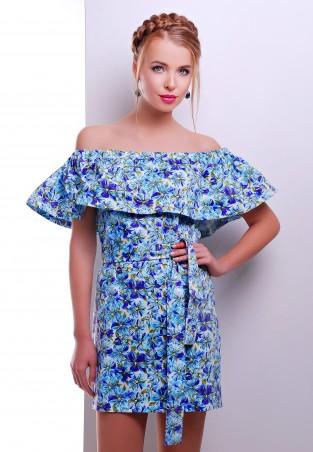 MarSe: Платье 1606 голубой - главное фото