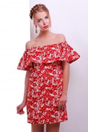 MarSe: Платье 1606 красный - главное фото