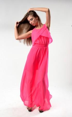 TessDress: Красивое шифоновое платье в пол «Веста». 1085 - главное фото