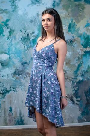 """TessDress: Цветной летний сарафан """"Инесса"""" 1287 - главное фото"""