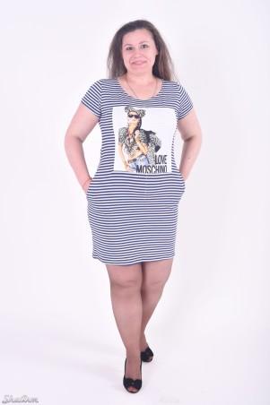 ShaArm: Платье Полоска С Карманами 142-полоска-с-карманами - главное фото