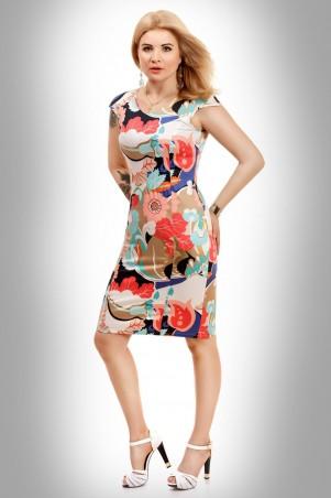 Tamara Style: Платье Коттон золотое напыление - главное фото