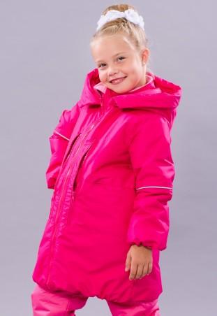 Be Easy: Пальто с глубоким капюшоном из мембранной ткани на девочку 1 2017D05 - главное фото