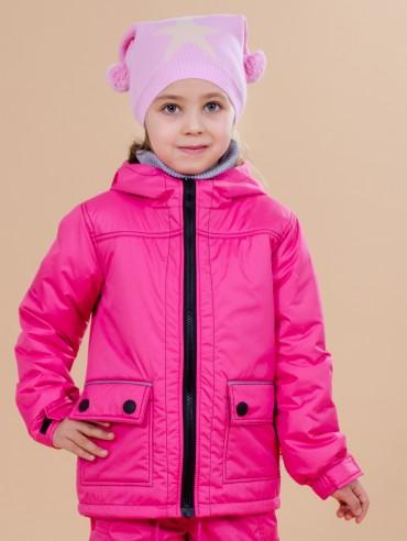Be Easy: Куртка демисезонная на девочку из мембранной ткани 2 2016ST-1 - главное фото
