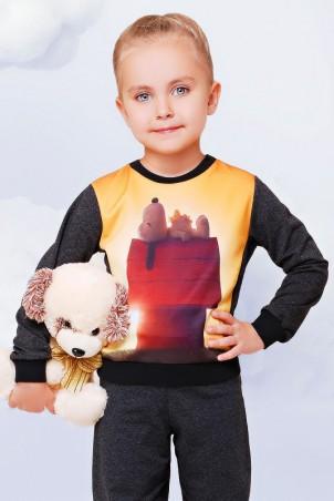"""FashionUp Kids: Свитшот """"Kids"""" KF-090 - главное фото"""