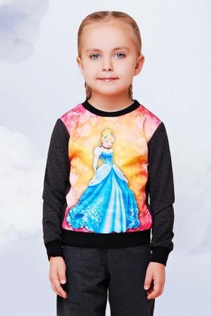 """FashionUp Kids: Свитшот """"Kids"""" KF-079 - главное фото"""