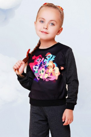 """FashionUp Kids: Свитшот """"Kids"""" KF-085 - главное фото"""