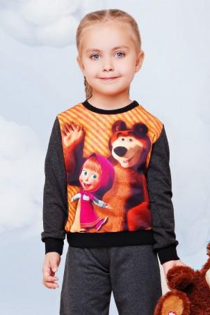 """FashionUp Kids: Свитшот """"Kids"""" KF-083 - главное фото"""