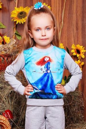 """FashionUp Kids: Свитшот """"Kids"""" KF-109 - главное фото"""