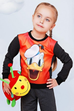 "FashionUp Kids: Свитшот ""Kids"" KF-077 - главное фото"