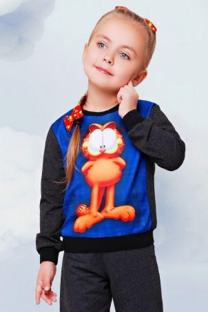 "FashionUp Kids: Свитшот ""Kids"" KF-086 - главное фото"