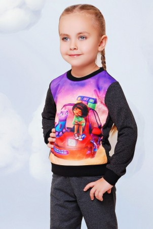 "FashionUp Kids: Свитшот ""Kids"" KF-078 - главное фото"