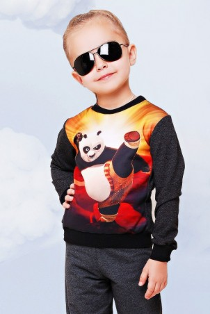 """FashionUp Kids: Свитшот """"Kids"""" KF-091 - главное фото"""