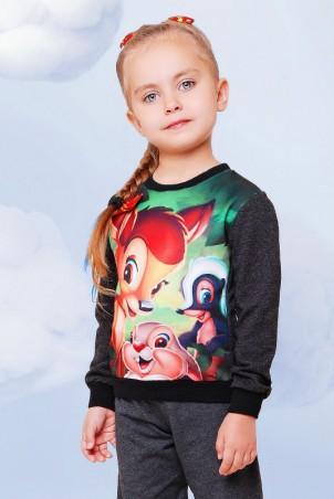 """FashionUp Kids: Свитшот """"Kids"""" KF-084 - главное фото"""