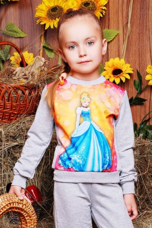 "FashionUp Kids: Свитшот ""Kids"" KF-099 - главное фото"