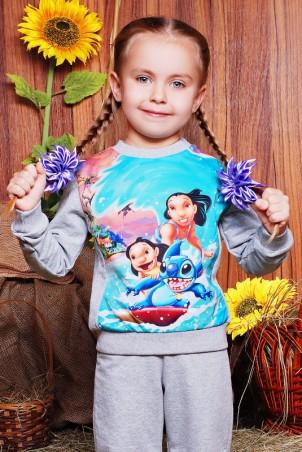"""FashionUp Kids: Свитшот """"Kids"""" KF-120 - главное фото"""