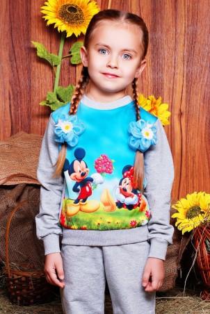 """FashionUp Kids: Свитшот """"Kids"""" KF-121 - главное фото"""