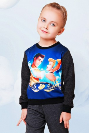 "FashionUp Kids: Свитшот ""Kids"" KF-092 - главное фото"