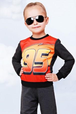 """FashionUp Kids: Свитшот """"Kids"""" KF-094 - главное фото"""