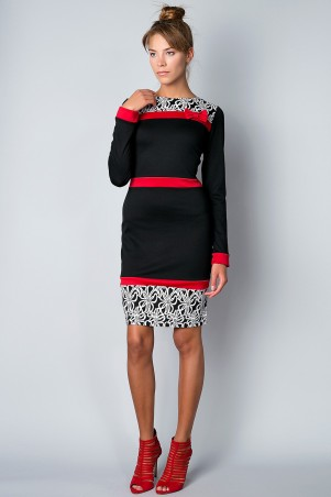 Meggi: Платье-1 3076-1 - главное фото
