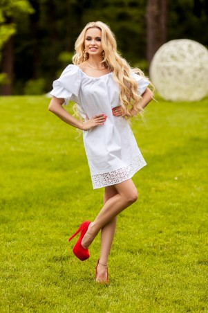 Jadone Fashion: Платье Шанту М-2 - главное фото