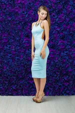 """TessDress: Летнее облегающее платье """"Ваниль"""" 1282 - главное фото"""