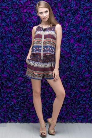 """TessDress: Женский комбинезон с шортами  """"Эмели"""" 4207 - главное фото"""