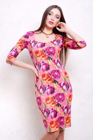 Glem: Платье Пионы 2  Вики-К д/р - главное фото